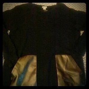 J crew baggy black sweater